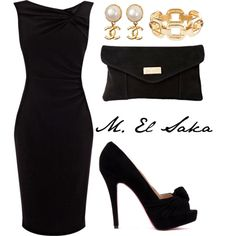 """""""Black"""" always stunning and in style..   """"The Little Black Deress"""""""