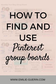 Pinterest Pinterest tips Pinterest group boards social media blog tips