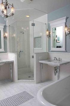 25 belles niches de douche pour vos beaux produits de bain ➤ http://CARLAASTON.com/designed/25-beautiful-shower-niches