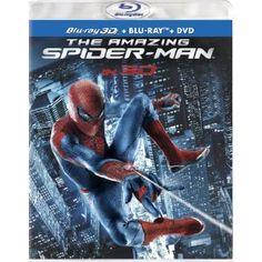 Amazon.com: The Amazing Spider-Man (Four-Disc Combo: Blu-ray 3D/Blu-ray/DVD + UltraViolet Digital Copy): Andrew Garfield, Emma Stone, Rhys Ifans, Denis Leary, Campbell Scott, Irrfan Khan, Martin Sheen, Sally Field, Marc Webb: Movies & TV
