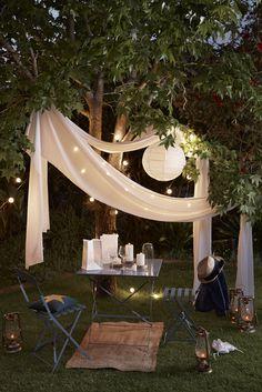 60 photos comment bien am nager sa terrasse meubles nature et terrasse - Comment accrocher une guirlande lumineuse au mur exterieur ...