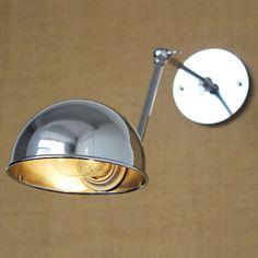 Lampade a candela da parete / Lampade con braccio orientabile / Lampade da lettura da parete Stile Mini Rustico/lodge Metallo del 4804727 2016 a €139.15
