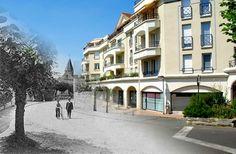 La rue de Paris à Eaubonne... hier et aujourd'hui