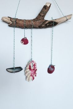 Seashell Craft Ideas: Wall Hanging - Crafts on Sea