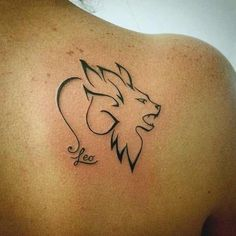 If your zodiac sign is Leo. Probably you are looking for Leo tattoos. Here are few best leo tattooo designs for men and women with their menaings. Escorpion Tattoo, Hand Tattoos, Leo Lion Tattoos, Leo Symbol Tattoos, Zodiac Signs Leo Tattoo, Body Art Tattoos, Ankle Tattoos, Tattoo Thigh, Mandala Tattoo