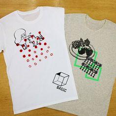 サンプルTシャツ完成