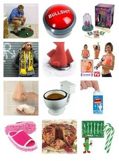 Funny White Elephant Gifts, great ideas for those upcoming holiday gift swaps #christmas