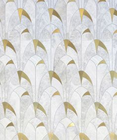 The Jeanne pattern from the Atelier collection. inspired by the Art Deco period.It's subtle geometry is perfect for many glamorous settings Arte Art Deco, Motif Art Deco, Estilo Art Deco, Art Deco Pattern, Art Deco Tiles, Floor Patterns, Tile Patterns, Textures Patterns, Art Nouveau