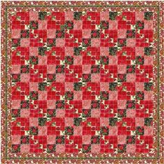 Easy four patch quilt pattern and tutorial from Ludlow Quilt and Sew