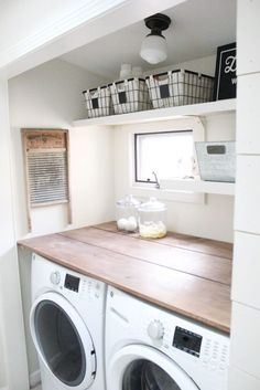 Best 20 Laundry Room Makeovers - Organization and Home Decor Laundry room decor Small laundry room organization Laundry closet ideas Laundry room storage Stackable washer dryer laundry room Small laundry room makeover A Budget Sink Load Clothes Laundry Room Remodel, Laundry Room Cabinets, Laundry Room Organization, Budget Organization, Diy Cabinets, Base Cabinets, Laundry Shelves, Organizing Ideas, Laundry Room Countertop