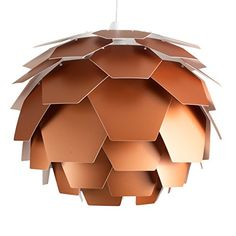 Modern Copper Effect Designer Style Artichoke Ceiling Pendant Light Shade MiniSun http://www.amazon.co.uk/dp/B01AKDQFKU/ref=cm_sw_r_pi_dp_1jbdxb1V5FG8X