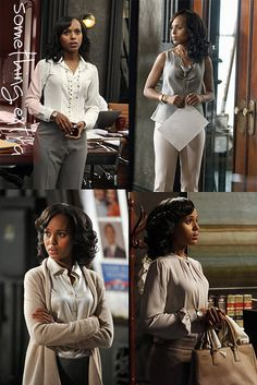 Let's be honest, Olivia Pope is always killing it with her wardrobe! Let's take a page out of her book