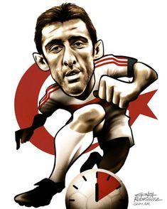 Hakan Sukur O turco fez o gol mais rápido da história das Copas, em 2002, contra a Coreia do Sul (11 segundos).