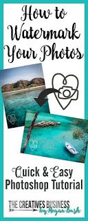 How to add watermarks to your photos using Photoshop