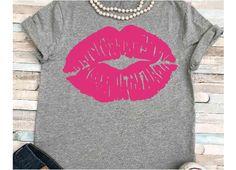Lips svg SVG DXF JPEG Silhouette Cameo Cricut make up svg iron on Gym svg Workout shirt Lipstick svg Distressed lips svg Gym Shirts, Workout Shirts, Happy Girls, Line Design, Design Bundles, Silhouette Cameo, Theme Parties, Cricut, Lipstick