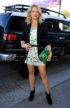 Jeri Ryan on her way to the 'Gold Meets Golden' Gala held at Equinox West LA in West Los Angeles, California - Jan 2013 - Photo: Runway Manhattan/AFF Hot Actresses, Hollywood Actresses, Seven Of Nine, Puff The Magic Dragon, Original Tv Series, Kate Mulgrew, Jeri Ryan, Fashion Story, Famous Women