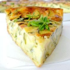 Light clafoutis with zucchini and goat cheese: the easy recipe - Recipes Easy & Healthy Easy Cooking, Cooking Time, Cooking Recipes, Quiches, Omelettes, Goat Cheese Recipes, My Best Recipe, Light Recipes, Food Inspiration
