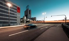 Urban Landscapes of Frankfurt by Johannes Heuckeroth