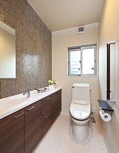 スタイリッシュなデザインのトイレ