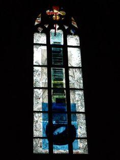 Description: Heidelberg, Germany: Heiliggeistkirche: The Spirit of the Lord fills the world (1999-2001, artist Hella Santarossa)