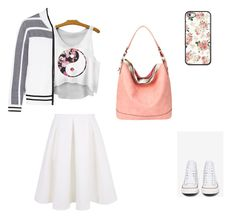 Mix&match casual feminine style by sassysac on Polyvore featuring rag & bone, Keepsake the Label and Converse TRENDY 2 IN 1 HOBO, LIGHT COLAR $ 36.99 http://www.sassysac.com/collections/hobos/products/vc-0002-lcl