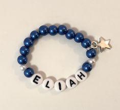 Armband für Baby Beaded Bracelets, Baby, Jewelry, Jewlery, Bijoux, Pearl Bracelets, Schmuck, Infants, Jewerly