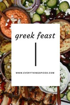 Mediterranean Diet Recipes, Mediterranean Dishes, Lebanese Recipes, Greek Recipes, Tzatziki, Cooking Recipes, Healthy Recipes, Healthy Nutrition, Clean Eating Recipes