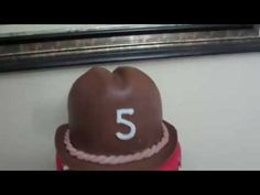How to make a Hat Cake from Fondant - YouTube