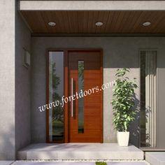 Cool door with sidelight.