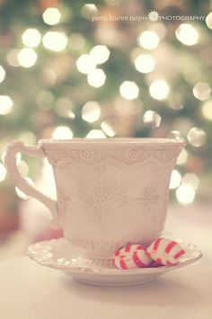 Christmas coffee ~Oh I have this mug, favorite to use for hot chocolate for girls.