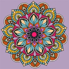 Recolor Mandala Art Lesson, Mandala Doodle, Mandala Drawing, Mandala Painting, Doodle Art, Still Life Pencil Shading, Buda Wallpaper, African Art Paintings, Arte Tribal
