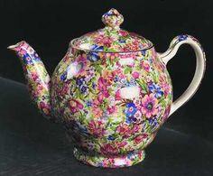 Royal Winton SUNSHINE Chintz Tea Pot 3 Cup