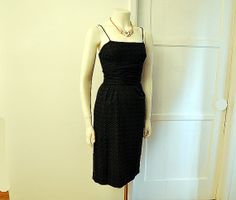 1950s dress / The Clever Vixen Vintage 50's by Planetclairevintage, $128.00