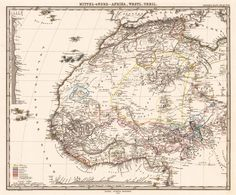 Map of West Africa #maps