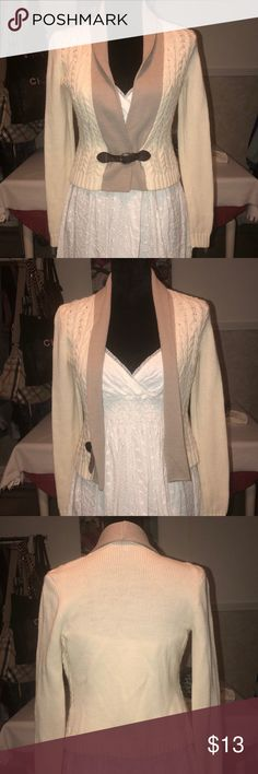 Antonio Melani cardigan size XS In excellent preowned condition! Has some pilling and snugs but nothing noticeable.  Please look at all pics and ask questions before buying. All sales are final. Items are from a smoke-free, pet-free home unless otherwise stated. Please check out my closet regularly as I tend to post new items weekly!  Happy Poshing! Sweaters Cardigans