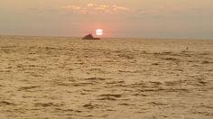 Ocracoke Ferry Sunset. Ocracoke , OBX July 2014 by Lisa Stansfield Viera.