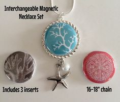 Interchangeable Magnetic Necklace Bracelet or by BellyLaughButtons