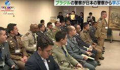 O policiamento comunitário para ser visto e aprendido é o motivo da visita dos policiais militares do Brasil em Nagoia. Visitarão outras cidades de Aichi.