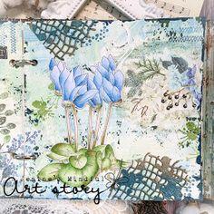 Art Journal Pages, Art Journals, Art Story, Rice Paper, Art Journal Inspiration, Copics, Flower Cards, Moose Art, Card Making