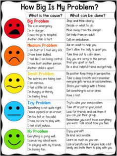 How Big Is My Problem? Chart and Worksheet How Big Is My Problem? Chart and Worksheet,premios counseling social work emotional learning skills character Social Skills Lessons, Social Skills For Kids, Social Skills Activities, Teaching Social Skills, Counseling Activities, Social Emotional Learning, Coping Skills, Anger Management Activities For Kids, Life Skills