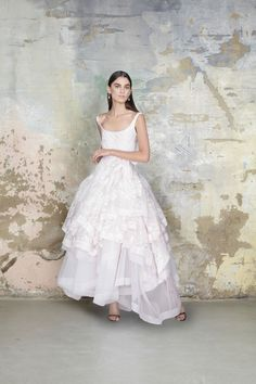 Embody a ballerina bride on your wedding day in the Vivienne Westwood Couture Princess Dress.