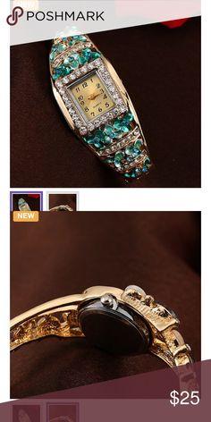 Watch Luxury retro full crystal bracelet watch Accessories Watches