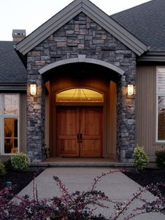 Entry Double Doors Design, Pictures, Remodel, Decor and Ideas - page 3