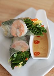 How to make Vietnamese Springrolls
