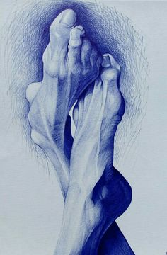 Ballpoint pen and pencil Drawings by Alexandra Miron Biro Drawing, Ink Pen Drawings, Drawing Sketches, Drawing Ideas, Anatomy Sketches, Anatomy Drawing, Anatomy Art, Stylo Art, Ballpoint Pen Drawing