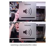 Its true though cause his audio is usually softer and quieter than other youtubers
