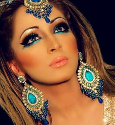native American makeup inspiration. pshh i'm that all year long :)