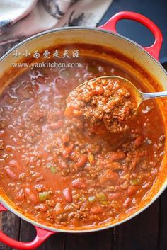 Cooking for everyone and everyday Spicy Venison Chili Recipe, Venison Sausage Recipes, Ground Venison Recipes, Mince Recipes, Chilli Recipes, Meat Recipes For Dinner, Deer Meat Recipes Ground, Venison Chilli, Tasty