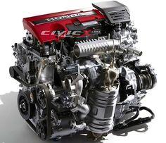 Details on New Honda Civic Si's Turbo Engine Surface http://www.autotribute.com/42691/42691/ #HondaCivic #CivicSi #CivicTypeR #HondaEngine