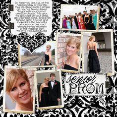 prom scrapbook ideas | senior prom... - Simply Digital Creative Team Gallery